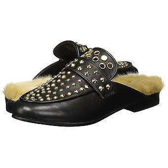 Steve Madden Womens Jordan Leather fermé orteils Mules