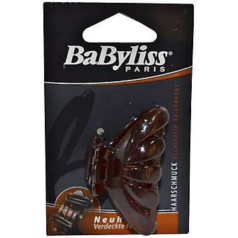 Babyliss Jaw Clip Brown 6cm Flat