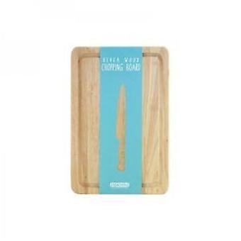 Rubber hout eco-vriendelijke snijden hakken Board 30 x 20 cm