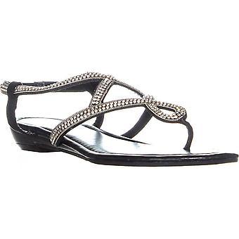 Madden tyttö naisten JK kangas avoin kärki rento Strappy sandaalit