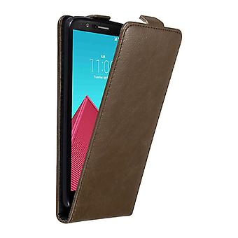 Cadorabo Case for LG G4 Case Cover - Phone Case in Flip Design with Magnetic Closure - Case Cover Case Case Case Case Book Folding Style