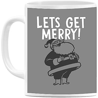 Lets Be Merry Mug