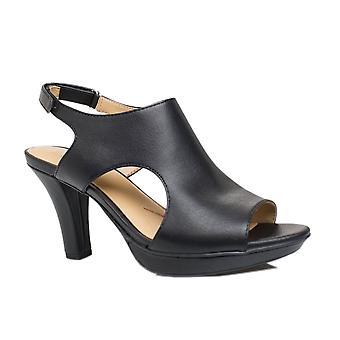 Naturalizer Womens dalton Fabric Open Toe Ankle Strap Classic Pumps