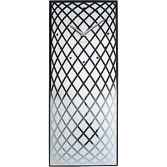 Nextime-vægur – 30 x 70 cm-glas/spejl – sølv-' pendula '