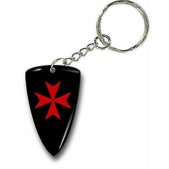 Keychain Key Key Door Car Motorcycle Flag Templar Knights Templar Shield