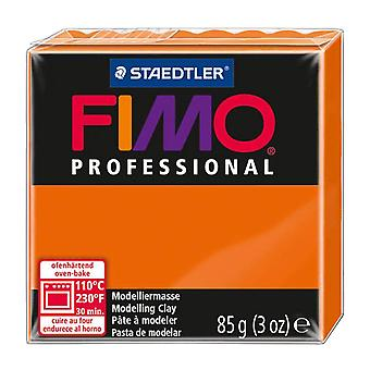 Fimo Professional Modelling Clay, Orange, 85 g