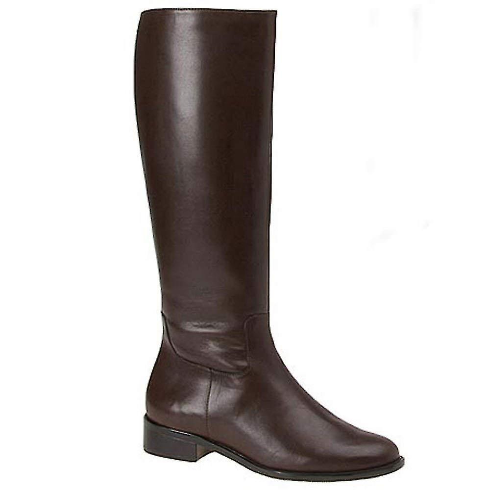 "Walking Cradles Womens Elite Mate 14"" Leather Almond Toe Knee High Fashion Bo..."