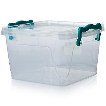 Hobby Life 2.4 Litre Square Multi Plastic Storage Box [sq Multi #1]
