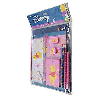 Stationery Set - Disney - Winnie the Pooh 11 pcs Value Pack School Supply