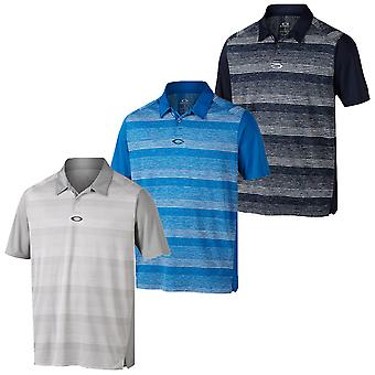 Oakley Golf Hombres Madcap manga corta Performance Tech Polo Camisa