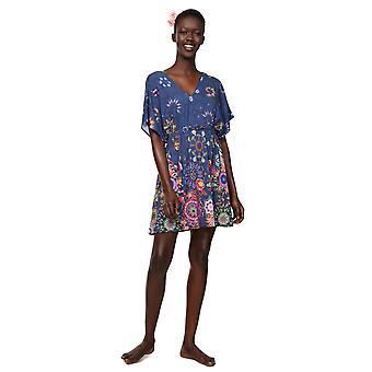 Desigual Women's Harvir Mandala Print Beach Dress