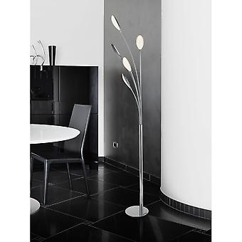 Schuller Lucila Modern Chrome LED Floor Lamp, 5 Lamps