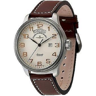 Zeno-Watch Men's Watch OS Retro Big 8554DD-12-f2