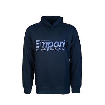 Emporio Armani Sweatshirt Hooded Jumper 6g1mf8 1j07z