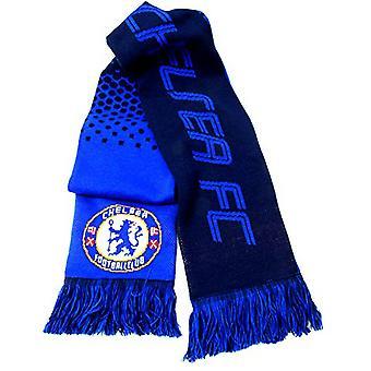 Chelsea FC offizielle Fußball Jacquard Fade Design Schal