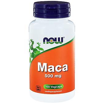 Maca 500 mg (100 vegicaps) - JETZT Lebensmittel