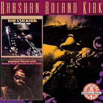 Roland Kirk - Inflated Tear/Natural Black Inventions [CD] USA import