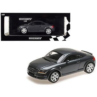 1998 Audi TT Coupé Metallic Gray Limited Edition à 300 pièces Dans le monde 1/18 Diecast Model Car par Minichamps