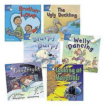 Opi HomeStar Reading Blue Level Pack 5 -fiktiossa ja 1 ei-fiktiivisessä kirjassa kirjoittanut Jane LangfordBarbara Vagnozzi