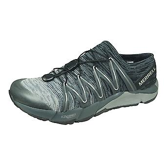 Merrell Bare Access Flex Knit Womens Trail Running Trainers / Shoes - Black