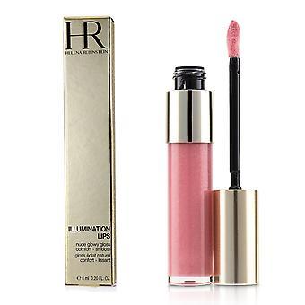 Beleuchtung Lippen Nude Glowy Glanz - 02 Nude Blush 6ml/0,2 Unzen