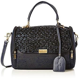 Laura Vita 3075 - Blue Woman handbag (Blau (Bleu)) 15x20x28 cm (B x H T)