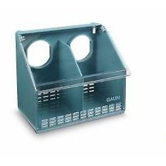 Gaun Pigeon Feeder 2 Hole-San (Birds , Feeders & Water Dispensers , Aviary and Garden)