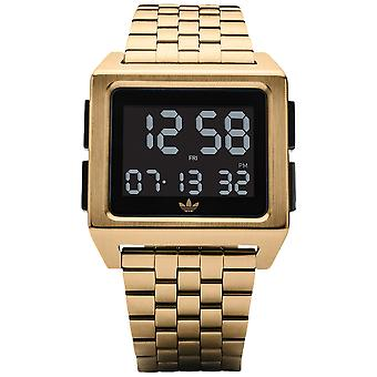 Adidas archive_m1 Quartz digital man Watch med rustfrit stål armbånd Z01513-00