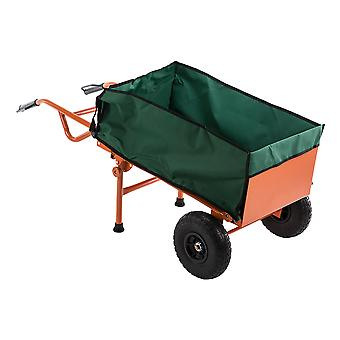 2 in 1 Heavy-Duty Industrie Leichtbauteil Barrow Lkw Trolley Handwagen