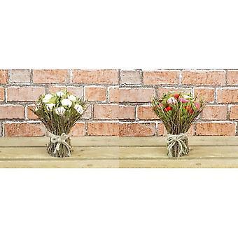 Wooden Floral Bouquet