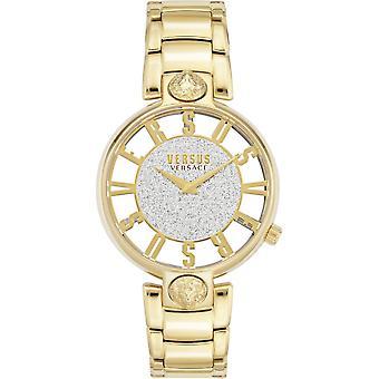 対ヴェルサーチVSP491419 女性&アポ;s キルステンホフゴールドトーン腕時計