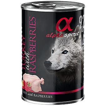 Alpha Spirit Adult  Monoproteic Pavo y Frambuesa (Dogs , Dog Food , Wet Food)