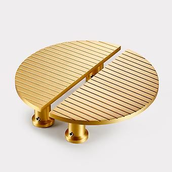 Brass Cabinet Handles - Gold - Stripe