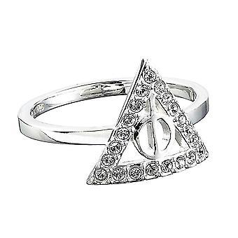 Harry Potter Swarovski Crystal Deathly Hallows Ring