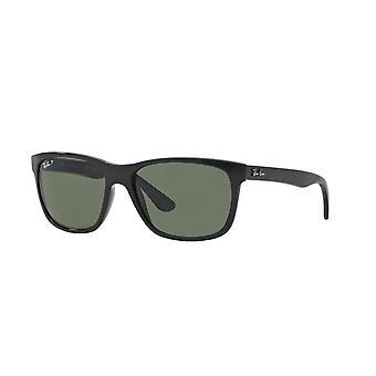 Ray-Ban RB4181 601/9A Black/Polarised Green Sunglasses