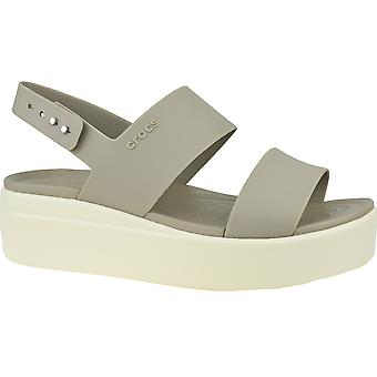 Crocs Brooklyn Low Wedge 206453-15W Womens outdoor sandals