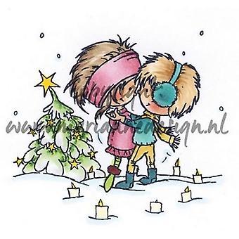 ماريان تصميم ختم دون & ديزي رومانسية عيد الميلاد DDS3354