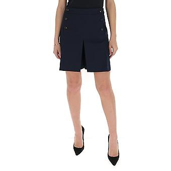 Mulberry Mywq301127y450400410 Women's Blue Polyester Shorts
