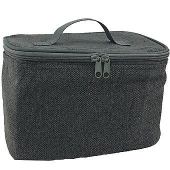 Grey Tweed Chiller Bag