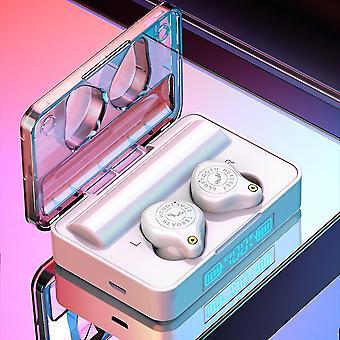 Kolorowe fajne tws bluetooth 5.0 słuchawki led wyświetlacz dotykowy sterowanie 3500mah power bank słuchawki z mikrofonem