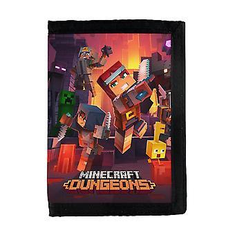 Carteira de Masmorras de Minecraft