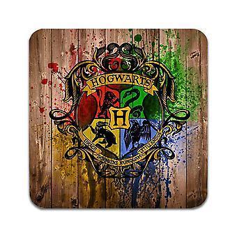 2 ST Harry Potter Hogwarts Untersetzer