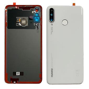 Aito Huawei P30 Lite - Takakansi sormitulostusanturilla - Pearl White - 02352RQB