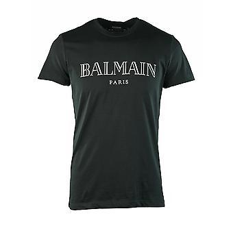 Balmain Paris Logo Black T-Shirt