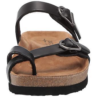 Eastland Women's TIOGO Sandal Black 10 Medium US