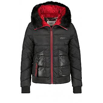 Taifun Black Quilted Coat