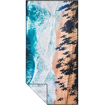 Slowtide Cast Travel Beach Towel in  Blue