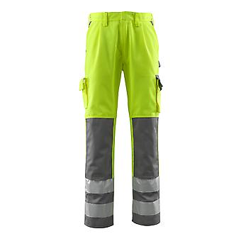 Mascot olinda hi-vis work trousers 07179-470 - safe compete, mens -  (colours 1 of 2)