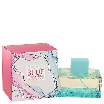Splash Blue Seduction Eau De Toilette Spray By Antonio Banderas 3.4 oz Eau De Toilette Spray