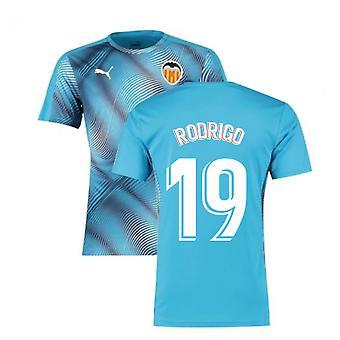 2019-2020 ملعب فالنسيا بوما جيرسي (الأزرق) (رودريغو 19)